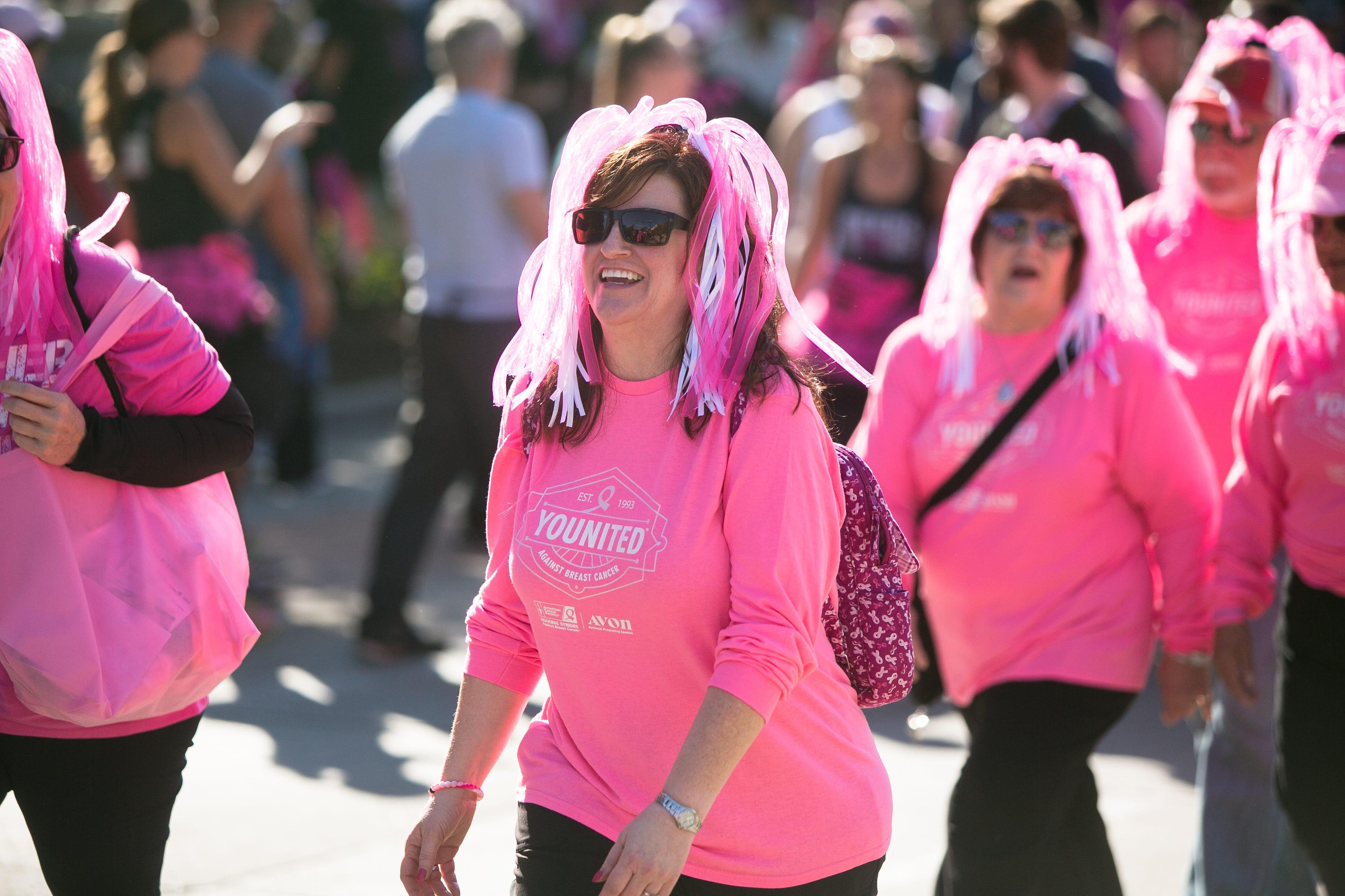 Making Strides Against Breast Cancer walk in Asheville