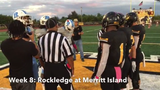 Rockledge football won at Merritt Island in Week 8 to clinch District 9-5A.