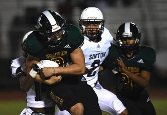 Rockport-Fulton rushed for more than 400 yards in its win over Sinton on Friday.
