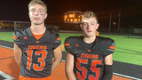 Haydn' Shanks and Spencer Pollard talk about game against Valley and a what they need to do to get ready for Wheelersburg next week.