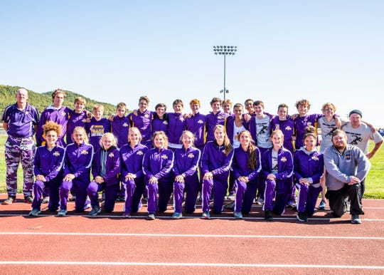 The Unioto boys and girls teams took first place at the 2019 Scioto Valley Conference Cross Country Championships on October 12, 2019 at Southeastern High School.