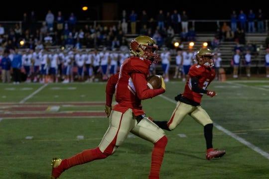 The Westfield and Edison high school football teams met Friday night at Matthew J. Drwal Stadium.