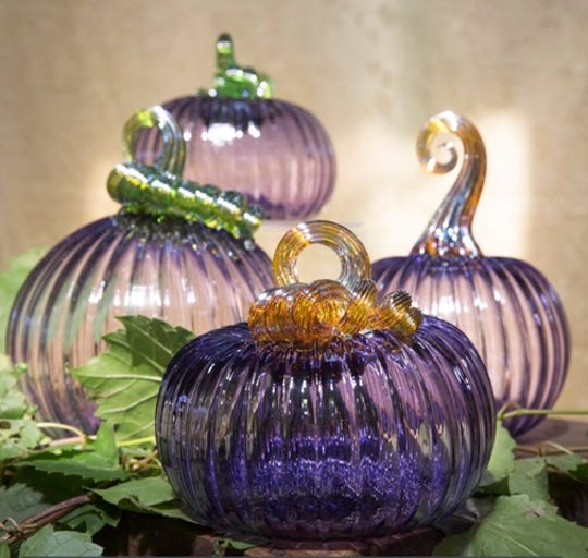 American Jewel, the Glass Academy's 2019 signature pumpkin, was created by co-owner Chris Nordin.