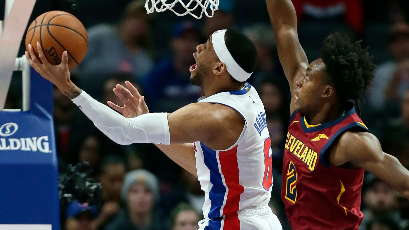 Pistons use late flurry to bury Cavaliers in furious finish