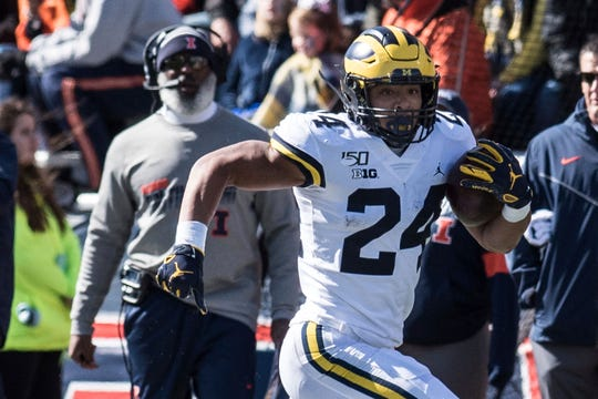 Zach Charbonnet and Michigan's offense have been more productive since they re-embraced the running game.