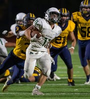 Allen Park's Nico Tiberia set school records for rushing yards in a game (272) and a season (1,606).