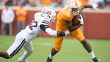 Tennessee wide receiver Jauan Jennings explains the trick play he was part of against Mississippi State.