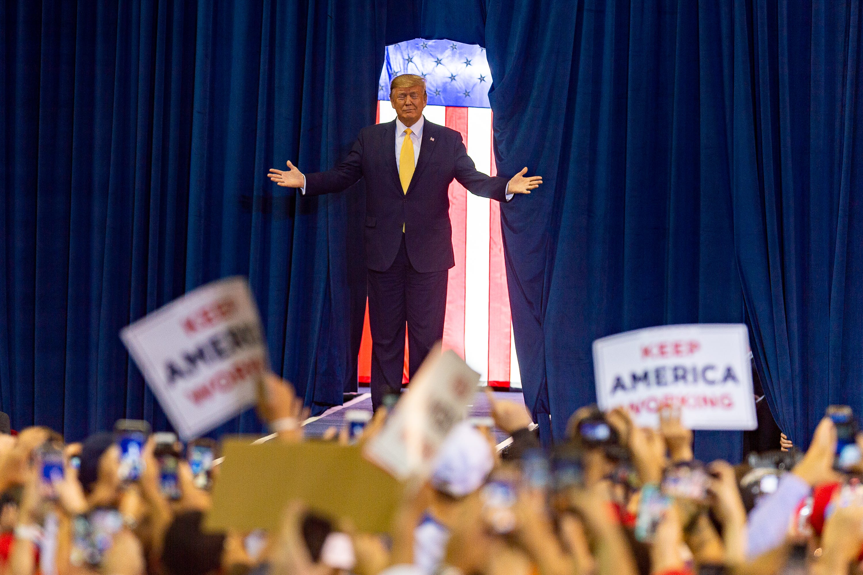 Five takeaways from Trump's Louisiana rally on impeachment, China and election