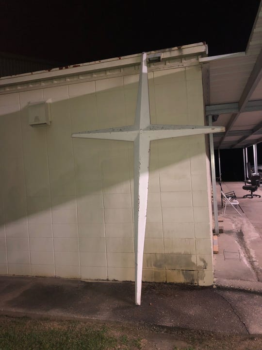 The cross stolen from Mt. Pleasant Baptist Church was found after a Crime Stoppers tip.