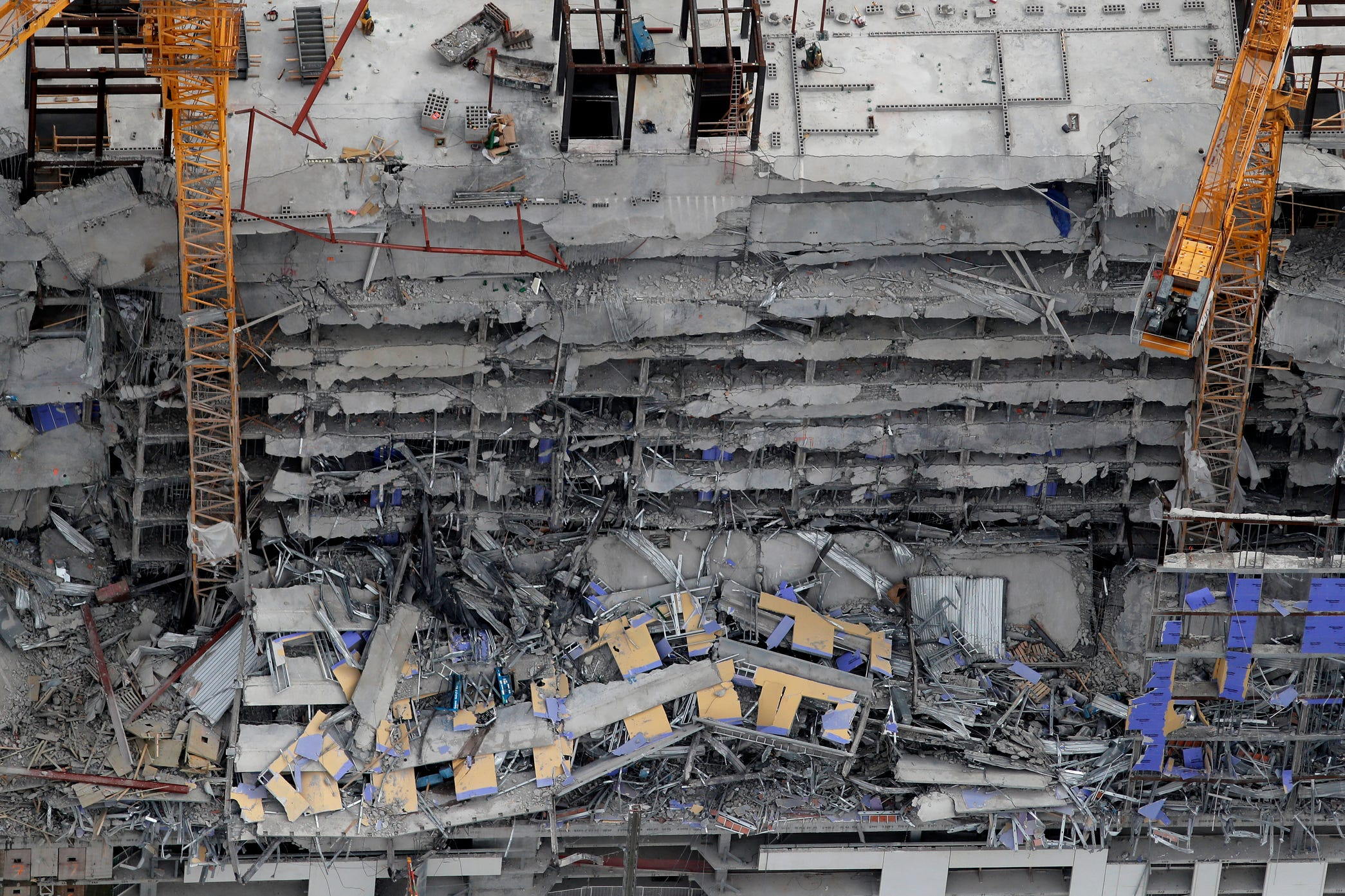 After October's Hard Rock Hotel collapse in New Orleans, lawsuits mount