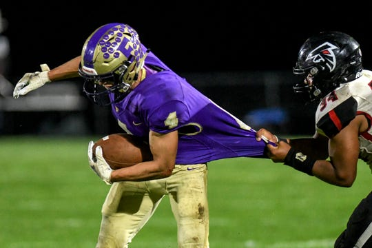 Kaleb Chappell and his Fowlerville football teammates will host Pinckney Friday night in the teams' first meeting since 1996.