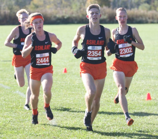 The Ashland Arrows swept the Top 5 positions during the 2019 Ohio Cardinal Conference cross country championships on Saturday.