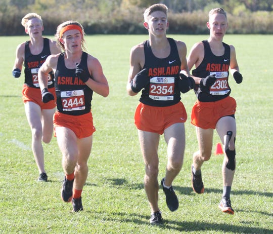 The Ashland Arrows boys cross country team posted a perfect score of 15 to lay claim to the OCC boys cross country championship.