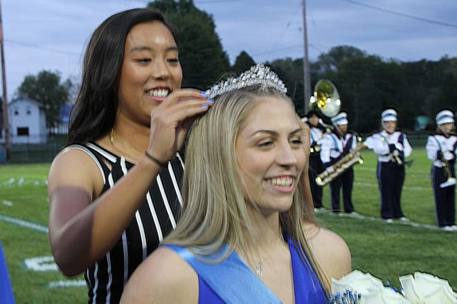 Annie Tibbels was crowned Danbury's Homecoming Queen Friday night.