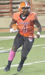 Mansfield Senior's Amajeon Robertson ushers in the latest big running back group for the Tygers.