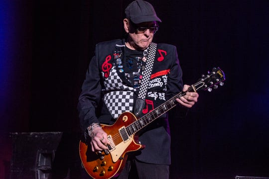 Rick Nielsen of Cheap Trick performs at the Montgomery Performing Arts Centre on Friday, Oct. 11, 2019. The band's management didn't allow The News-Press to shoot photos of Friday's concert at Hertz Arena in Estero.