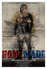 """""""Homemade,"""" a documentary about Marine veteran Adam Sorensen's post-deployment struggles was shown at the Nashville Film Festival, which was co-sponsored by MTSU."""