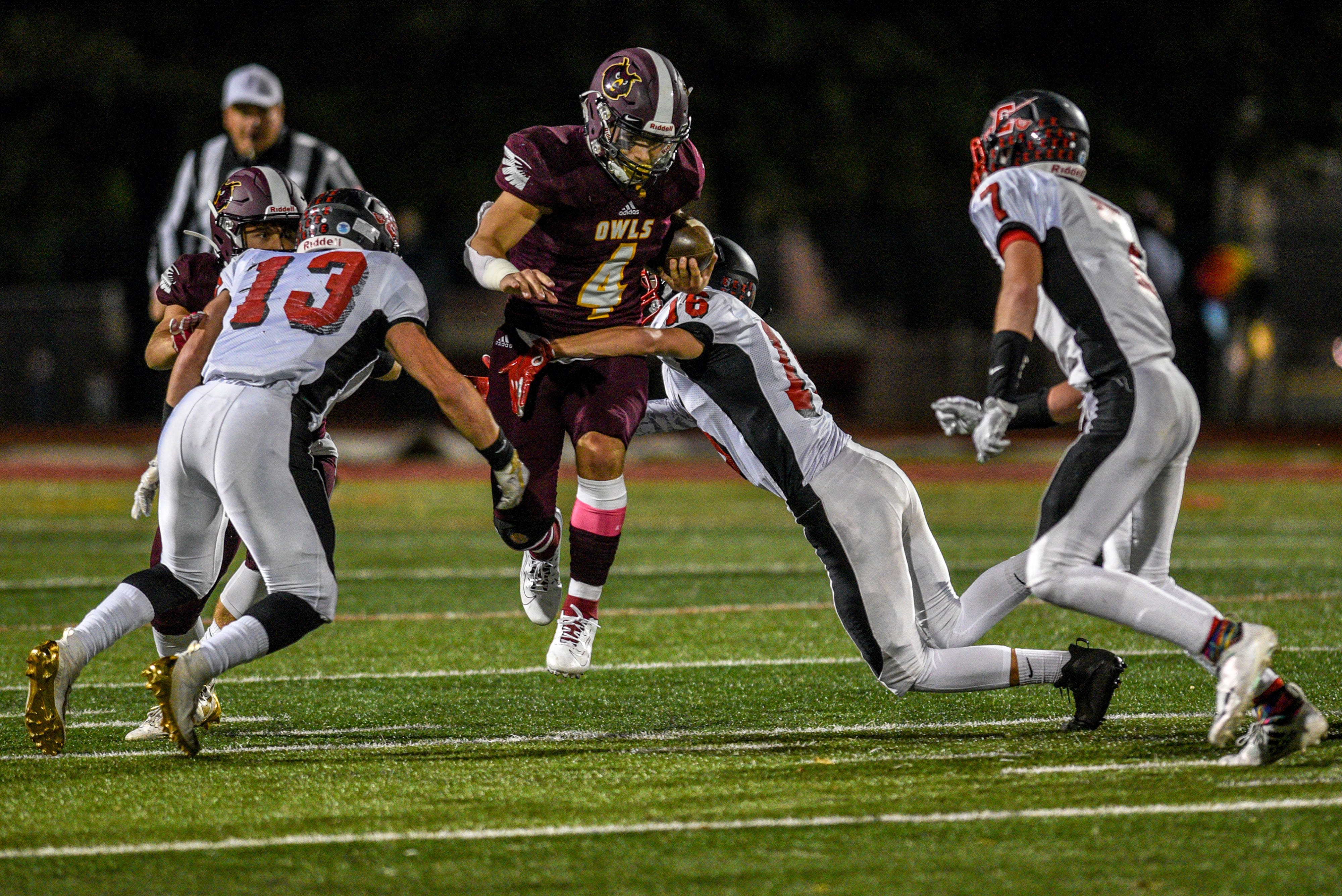Park Ridge football tops Emerson to clinch division title