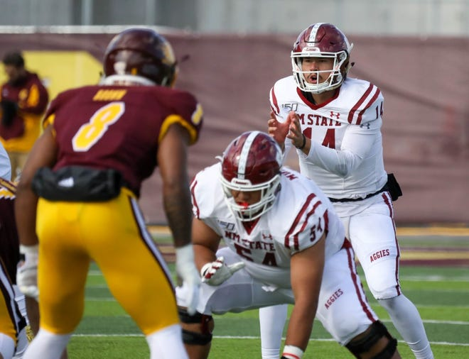 The New Mexico State football team suffered a 42-28 road loss to Central Michigan on Saturday, Oct. 12.