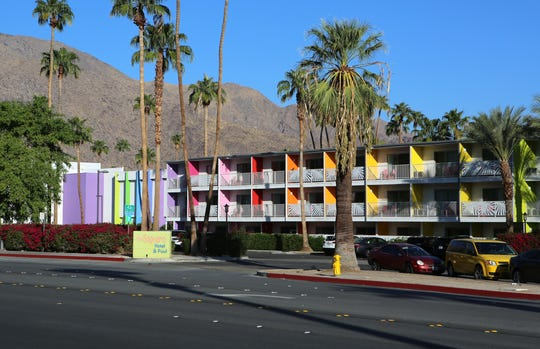 The Saguaro in Palm Springs, Calif., charges a $35 resort fee.