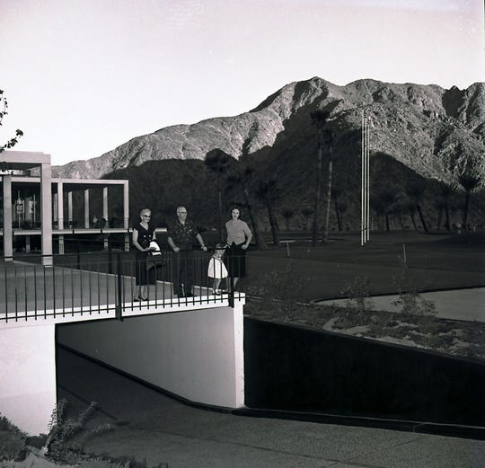 Underground parking for the golf course was an unique feature of the Eldorado clubhouse.