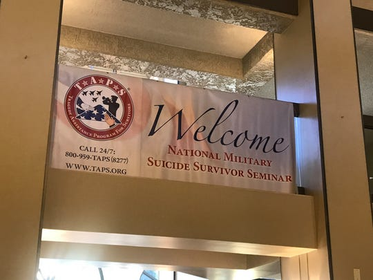 TAPS held its 11th annual National Military Suicide Survivor Seminar on Saturday, Oct. 12, 2019.