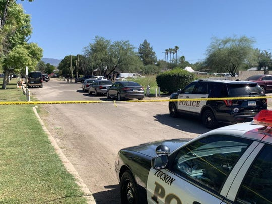 Tucson police are investigating an officer-involved shooting in the 5700 block of East Eastland Street, northeast of the South Craycroft Road and East 22nd Street intersection.