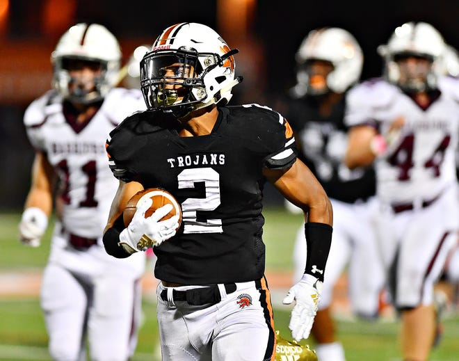 York Suburban's Savion Harrison was the York-Adams Division II Offensive Player of the Year.