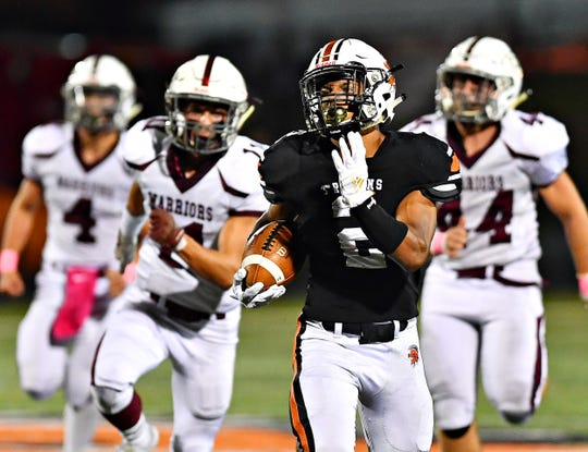 York Suburban's Savion Harrison was picked a first-team all-state running back in Class 4-A by the Pennsylvania Football News.