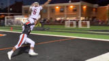 Gettysburg slot back Charles Warren snagged a pass from Zach Ketterman with one-hand and stayed inbounds for a touchdown against York Suburban on Friday.