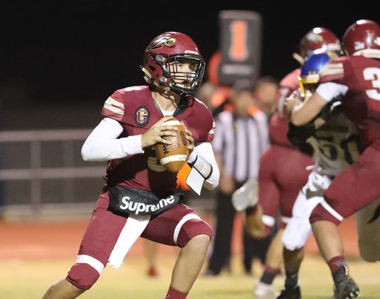 The West Valley Eagles prevailed over the Anderson Cubs 60-29 on Friday, Oct. 11, 2019.
