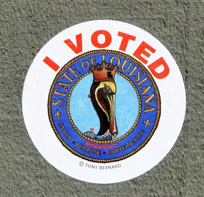 Voting in Louisiana on Saturday November 16, 2019.