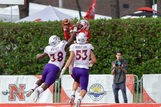 Nicholls defeated Northwestern State, 45-35, on Saturday.
