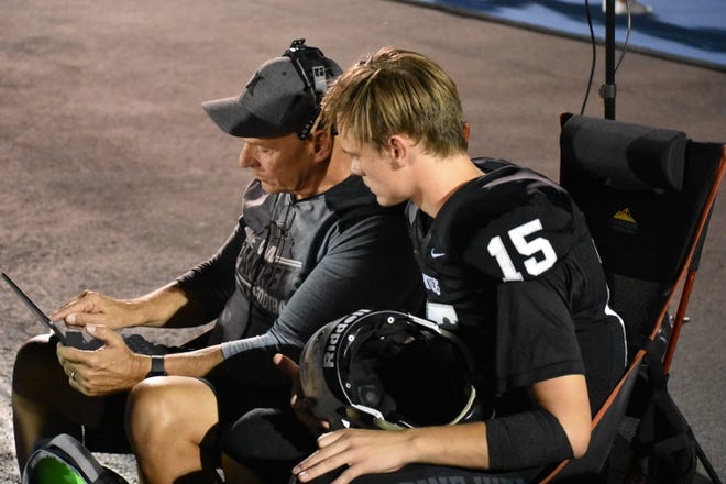 Pine View's father-son duo of Macloud and Gary Crowton has taken Region 9 football by storm in 2019.
