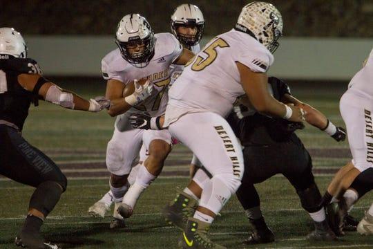 Pine View football defeats Desert Hills 55-3 Friday, Oct. 11, 2019.
