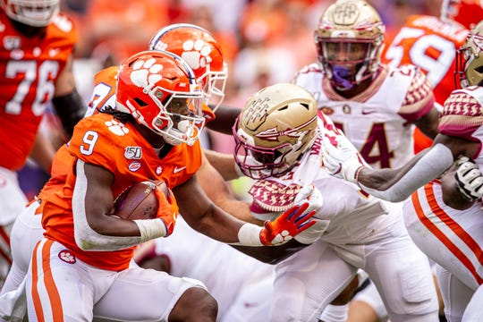 A tough first half for the Seminoles sees them trailing Clemson 28-0 at the end of the first half on Saturday, October 12th.