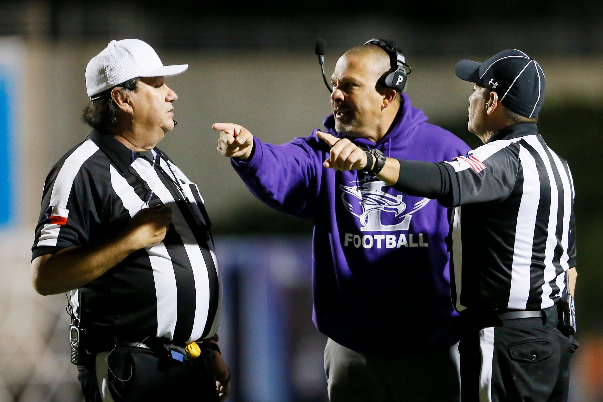 "El Paso Eastlake head coach Ruben Rodriguez said ""I like the rule because it rewards a good district season with a home playoff game."""