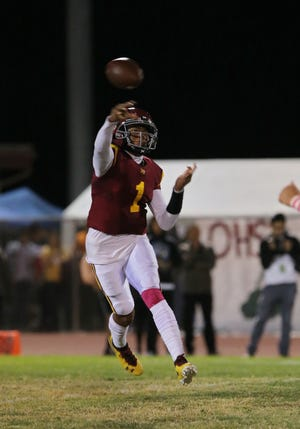 "Jaden Jones says leaving Oxnard High to finish his high school career at Westlake High ""wasn't an easy decision. In the end, my family and I decided that I have to do what's best for me."""