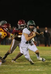 Quarterback RJ Maria and Pacifica will host Mira Costain a Division 6 first-round game.