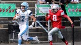 Suffern football defeated the Yonkers Brave, 28-0 at Saunders High School in Yonkers, Oct. 12, 2019.