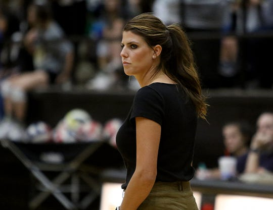 Rider's Alysha Humpert was chosen to coach in the Oil Bowl's all-star volleyball matches.
