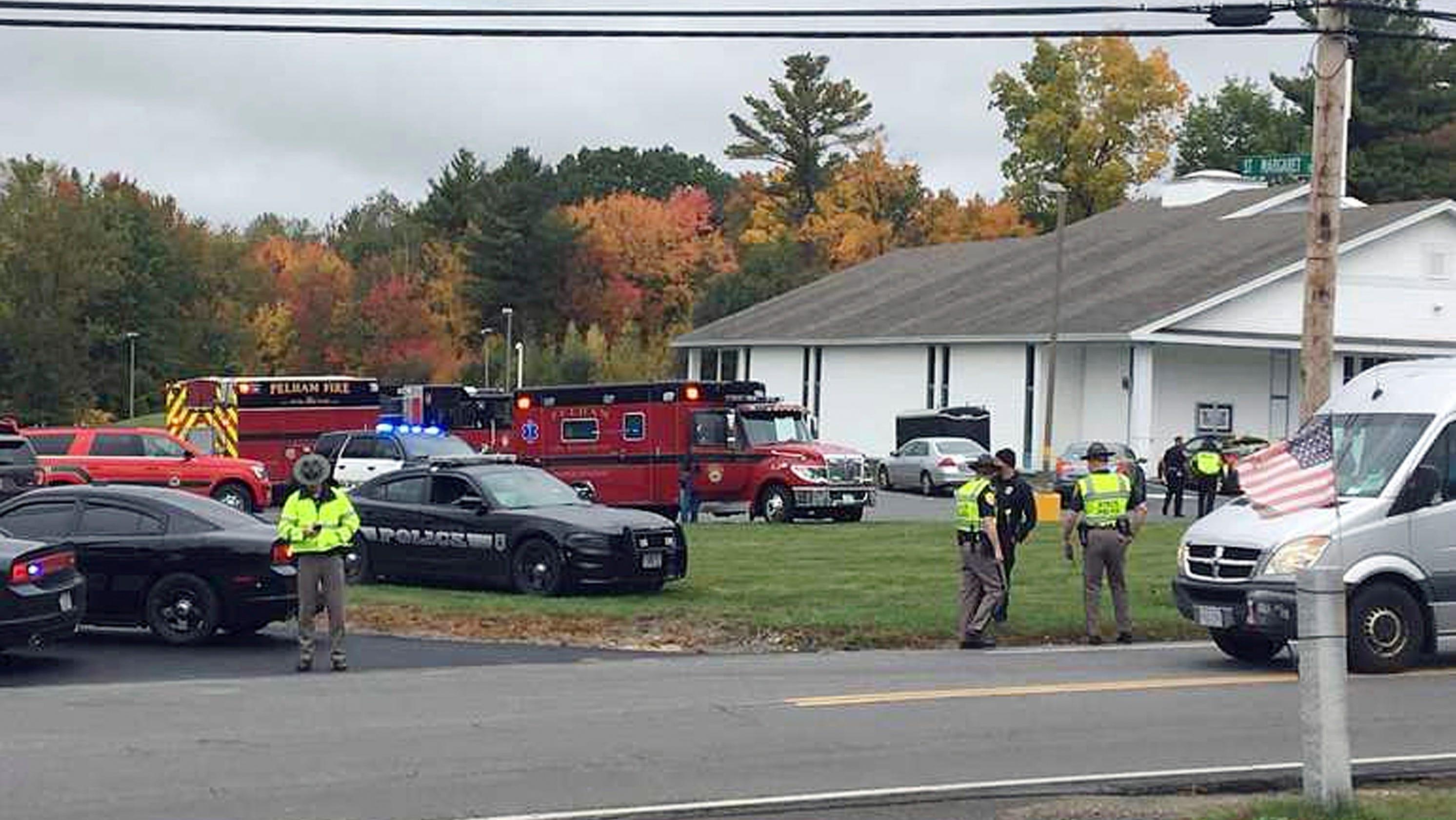 2 individuals shot ahead of marriage ceremony guests tackle gunman at New Hampshire church, police impart thumbnail