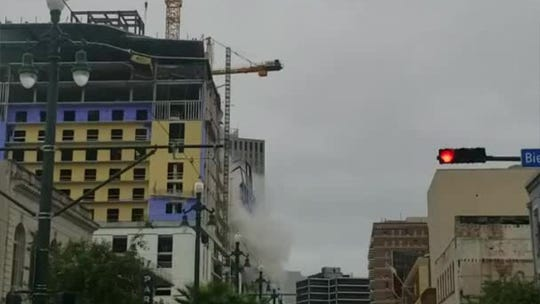 Hard Rock hotel construction collapse in New Orleans: At least 1 dead, several missing