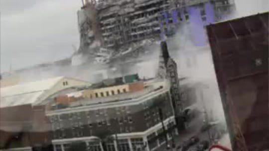 Hard Rock hotel construction collapses in New Orleans; 2 dead, 1 missing