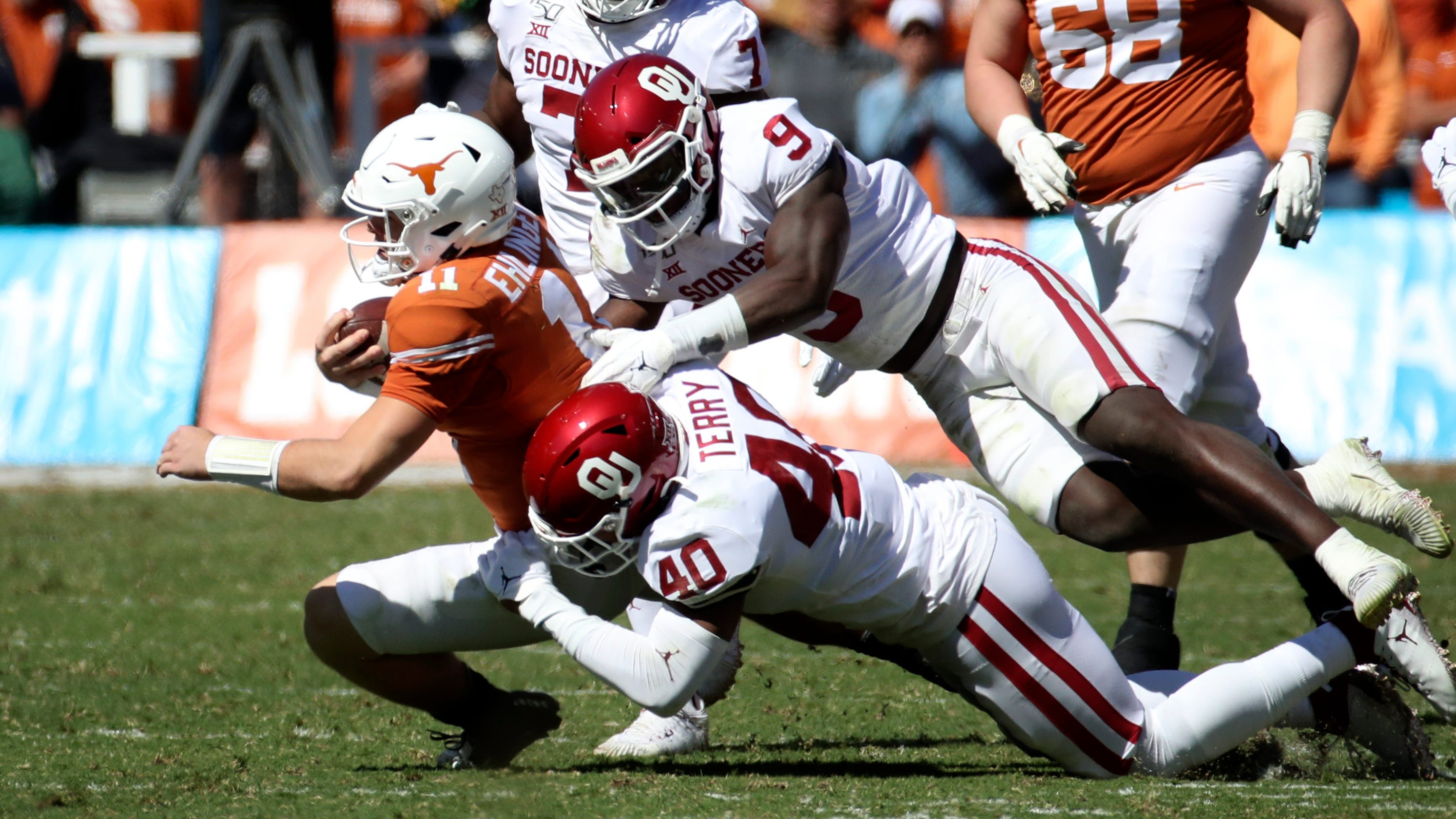 Oklahoma defense vs. Texas makes it College Football ...