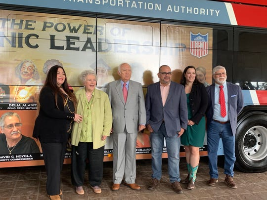 The American GI Forum chose 16 Hispanic leaders from the Coastal Bend to be featured on Corpus Christi Regional Transportation Authority buses for Hispanic Heritage Month.