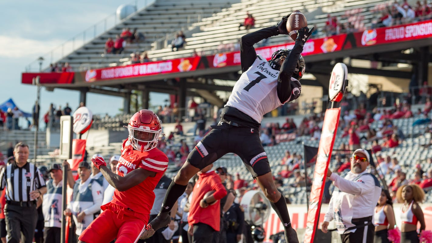What we learned in No. 25 Cincinnati football's victory at Houston