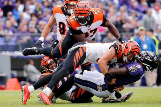 TML: Cincinnati Bengals, Zac Taylor, NFL winless teams, Baltimore, MLB