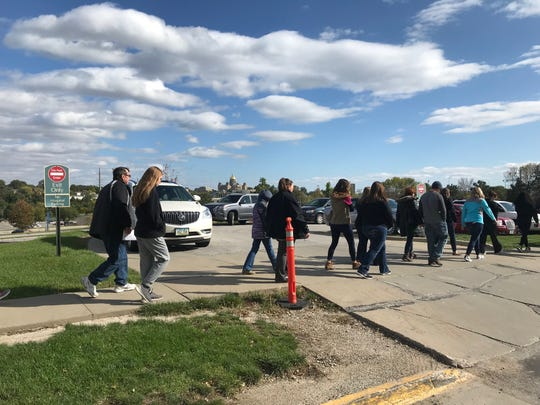 Families who lost a child during pregnancy, birth or soon after birth came to MercyOne Des Moines Medical Sunday after for the annual Walk to Remember, an event to honor the lost babies.