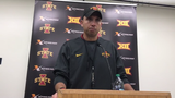 Iowa State coach Matt Campbell talks about his team's strong second half performance over West Virginia.